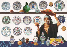 ST - 134 - ASSIETTES TURQUES - TURKISH PLATES