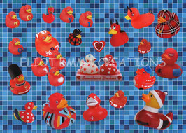 ST - 360 - CANARDS EN CAOUTCHOUC - RUBBER DUCKIES