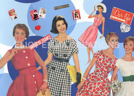 ST - 267 - LA MODE DES ANNEES 50 - FASHION OF THE FIFTIES