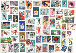 ST - 449 - TIMBRES des SPORTS d'HIVER - WINTER SPORTS STAMPS