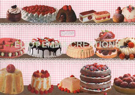 ST - 195 - PATISSERIES - CAKES