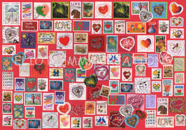 ST - 457 - TIMBRES sur l'AMOUR - LOVE STAMPS