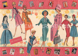 ST - 268 - LA MODE DES ANNEES 50 - FASHION OF THE FIFTIES