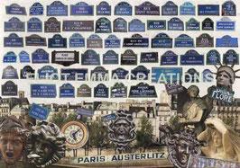 ST - 233 - PARIS - PLAQUES DES RUES - PARIS - STREET SIGNS