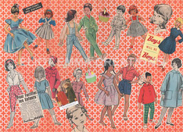 ST - 275 - LA MODE ENFANTINE DES ANNEES 50 - CHILD FASHION OF THE FIFTIES
