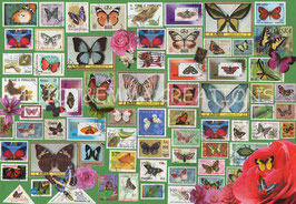 ST - 445 - TIMBRES de PAPILLONS - BUTTERFLY STAMPS