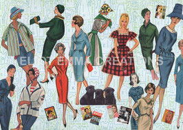 ST - 271 - LA MODE DES ANNEES 50 - FASHION OF THE FIFTIES