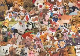 ST - 53 - NOUNOURS - TEDDY BEARS
