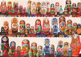 ST - 356 - POUPEES MATRIOCHKA - MATRYOSHKA DOLLS