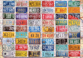 ST - 104 - PLAQUES d'IMMATRICULATION - LICENSE PLATES