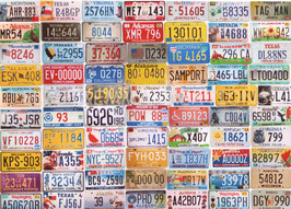 ST - 103 - PLAQUES d'IMMATRICULATION - LICENSE PLATES
