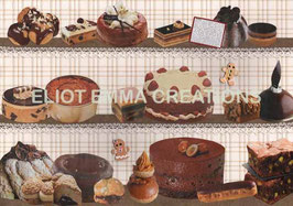ST - 196 - PATISSERIES - CAKES