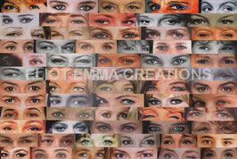 ST - 118 - REGARDS - ACTRICES FRANCAISES - EYES - FRENCH ACTRESSES