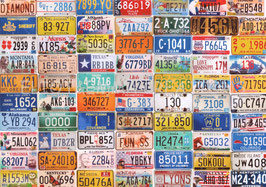 ST - 102 - PLAQUES d'IMMATRICULATION - LICENSE PLATES