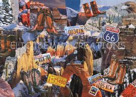 ST - 305 - LES MONTAGNES ROCHEUSES SOUS LA NEIGE - THE ROCKIES UNDER THE SNOW