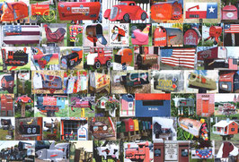 ST - 398 - BOITES AUX LETTRES AMERICAINES ROUGES - RED US MAILBOXES