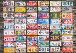 ST - 105 - PLAQUES d'IMMATRICULATION - LICENSE PLATES