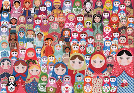 ST - 358 - POUPEES MATRIOCHKA - MATRYOSHKA DOLLS