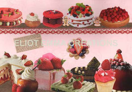 ST - 191 - PATISSERIES - CAKES