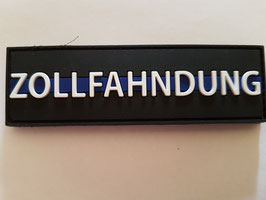 "PVC-Patch ""ZOLLFAHNDUNG Thin-Blue-Line"""