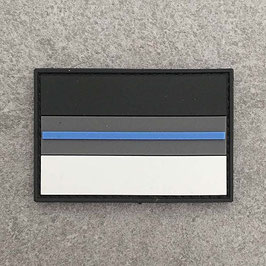"PVC Patch ""Thin-Blue-Line Germany"""