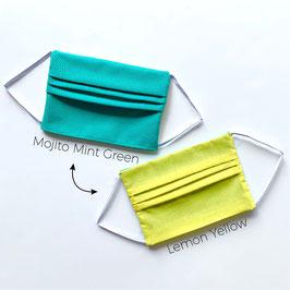 Mojito Mint Green - Lemon Yellow