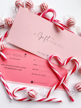 Gift Voucher - Choose the value of your voucher