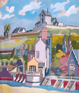 Der Hafen von Brehek in der Bretagne / The port of Brehek in the Brittany