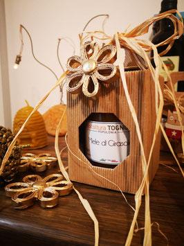 confezione natalizia - miele 500 gr