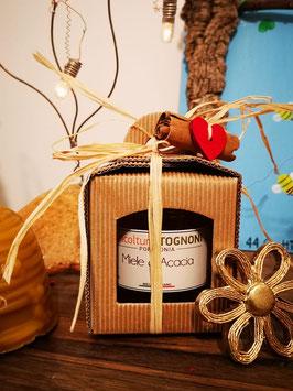Confezione Natalizia miele 250 gr
