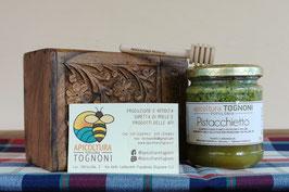 PISTACCHIETTO - miele, pistacchio siciliano e polline