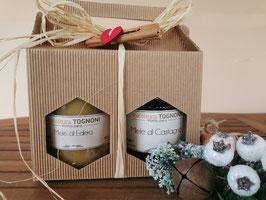 Confezione natalizia - miele tradizionale 2 x 500 gr