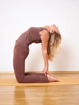 Yoga Workshop im MahaShakti Yoga Studio München in Schwabing: Backbends, Drop back & Herz Meditation Workshop mit Veronika