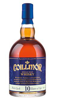 Coillmór Single Malt Whisky Port Cask 10 Years of Age 46 %vol. (10 Jahre) 0, 7 l