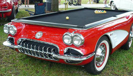 Poolbillard 9ft Corvette 1959