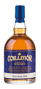 Coillmór Single Malt Whisky 43% vol. 4,5 Jahre American Oak (4,5 Jahre) 0,7l