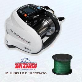 MULINELLO FISHING FERRARI KGN 1000 HI-SPEED + 1000 MT DI TRECCIATO