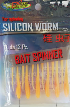 EXPERT SILICON WORM BAIT SPINNER