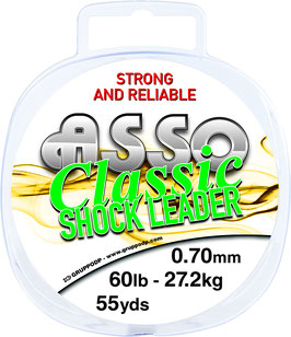 ASSO CLASSIC SHOCK LEADER 100MT
