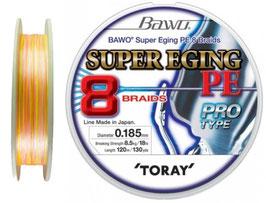 TORAY BAWO SUPER EGING PE 8 BRAIDS 120M