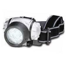 LAMPADA FRONTALE A LED 8+1