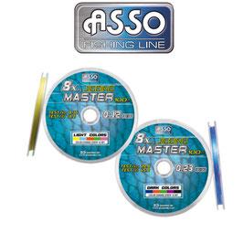 ASSO 8X JIGGING MASTER MULTICOLOR 100MT