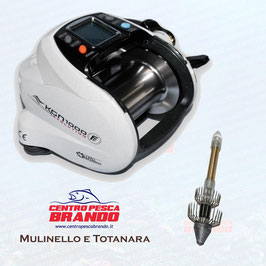 MULINELLO FISHING FERRARI KGN 1000 HI-SPEED + TOTANARA 750 gr