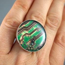 Ring 25mm rund silber