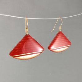 Ohrhänger Viertel Silber / rosé / vergoldet