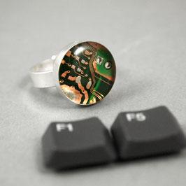 Ring 15mm rund silber