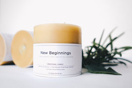 New Beginnings - Candle