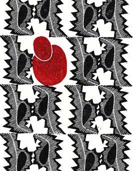 Kartenset «rot-schwarz»