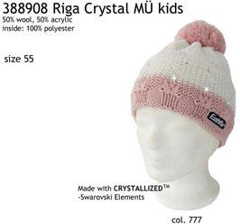 Riga Crystal Eisbär Mütze Kids