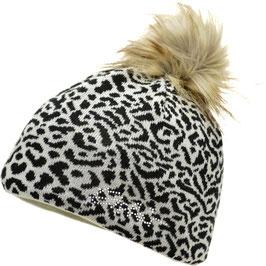 Animal Lux Crystal Eisbär Mütze